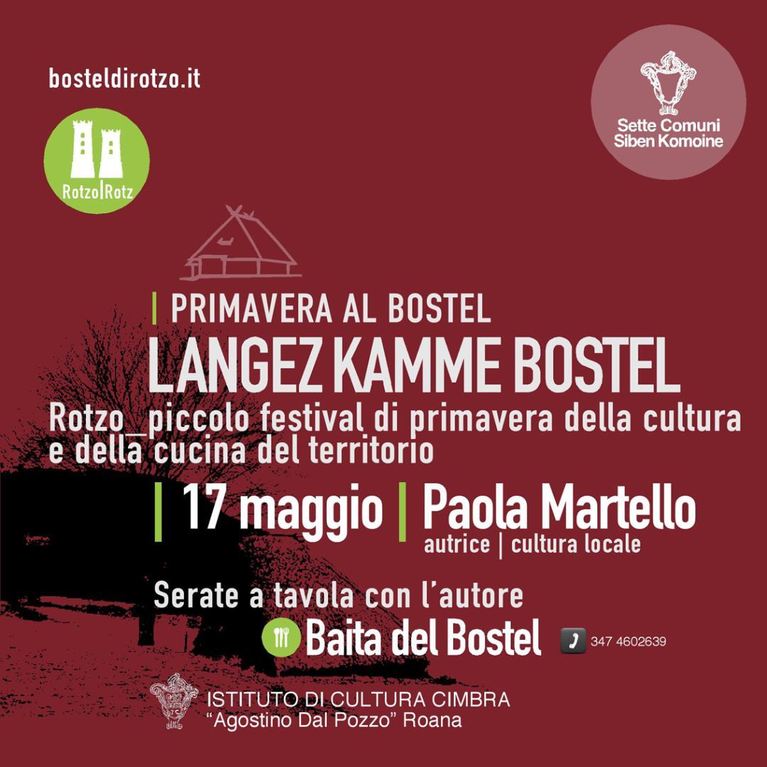 Langez Kamme Bostel – 17.05.2019 – Paola Martello